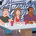 "FAMILY GUY - AMERICAN IDOL judges Simon Cowell, Randy Jackson and Paula Abdul in ""Stewie Kills Lois"""