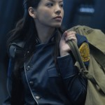 "BATTLESTAR GALACTICA - Stephanie Jacobsen as Kendra Shaw in ""Razor"""