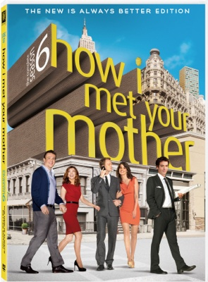 how i met your mother season 6 dvd