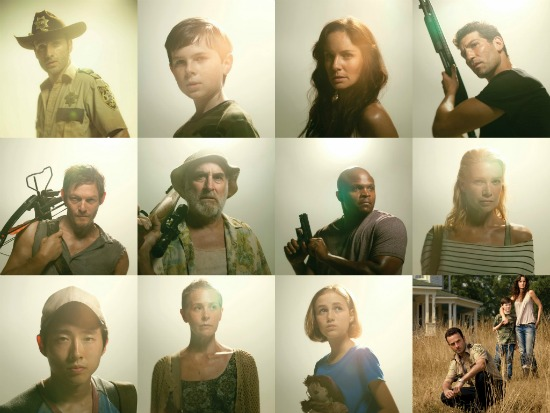 THE WALKING DEAD Season 2 Cast