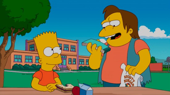The Simpsons The Spy Who Learned Me Season 23 Episode 20