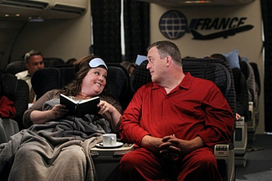 "Mike & Molly Season 3 Premiere ""The Honeymoon is Over"" (2)"