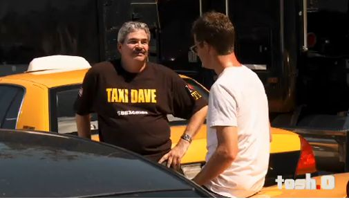 TOSH.0 Web Redemption Taxi Dave