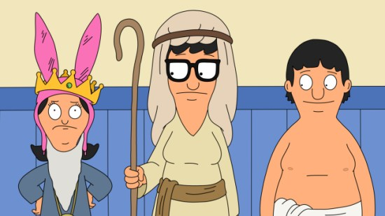 Bob's Burgers Season 3 Episode 9 God Rest Ye Merry Gentle-Mannequins