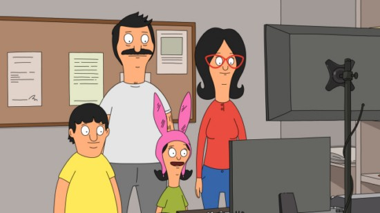 Bob's Burgers Season 3 Episode 12 Broadcast Wagstaff School News