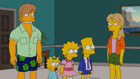 The Simpsons Season 24 Episode 11 Changing of the Guardian (2)