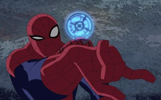 Ultimate Spider-Man Hawkeye
