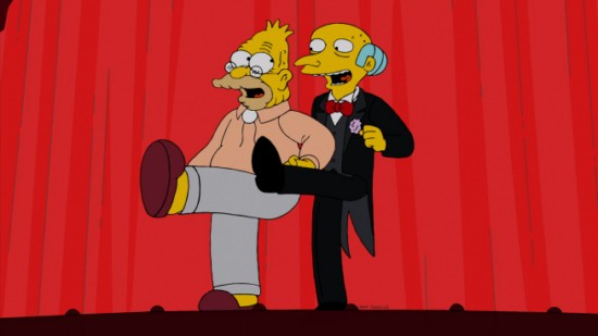 The Simpsons Season 24 Episode 14 Gorgeous Grampa (7)
