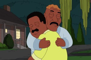 The Cleveland Show Season 4 Finale 2013 Crazy Train; Wheel! Of! Family!-5