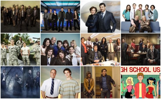 fox 2013-2014 tv shows