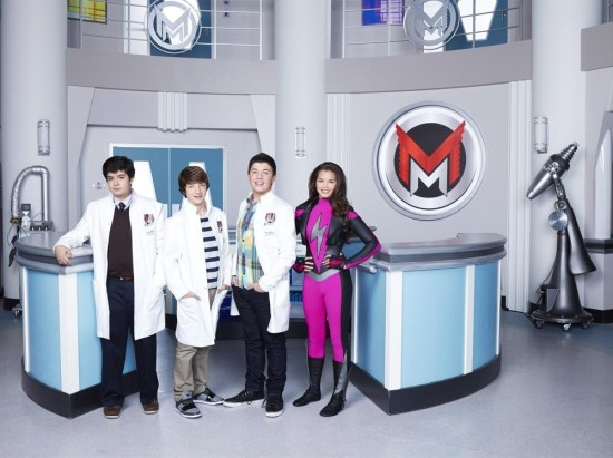 Mighty Med DEVAN LEOS, JAKE SHORT, BRADLEY STEVEN PERRY, PARIS BERELC