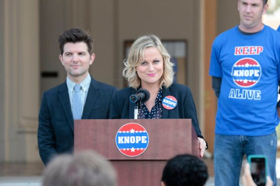 Parks and Recreation season 6 episode 6 & 7 Filibuster/Recall Vote (21)