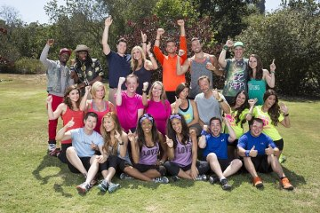 11 teams racing around the globe for the opportunity to win the $1 million dollar prize, on the new season of THE AMAZING RACE. The 10 time Emmy Award-winning series premieres, Friday, Sept. 25 (8:00-9:00 PM, ET/PT) on the CBS Television Network.  Pictured: Top Row, L-R: Ernest Phillips, Jin Lao, Joey Buttitta, Kelsey Gerckens, Tanner Kloven, Josh Ahern, Justin Scheman, and Diana Bishop; Middle Row, L-R: Shevonne Sullivan, Kelly Berning, James Earl Corley, Denise Williams, Logan Fazio, Chris Gordon, Krista DeBono, and Tiffany Chantell Torres; Bottom Row, L-R: Rick Chac, Cindy Chac, Jazmine Lewis, Danielle Littleton, Adam Dingeman, and Alex Manard Photo: Sonja Flemming/CBS ©2015 CBS Broadcasting, Inc. All Rights Reserved