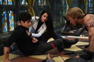 "SHADOWHUNTERS - ""Bad Blood"" - Alec and Clary are forced to make some hard decisions in ""Bad Blood,"" an all-new episode of ""Shadowhunters,"" airing  Tuesday, March 1st at 9:00 – 10:00 p.m., EST/PST on Freeform, the new name for ABC Family. (Freeform/John Medland) MATTHEW DADDARIO, EMERAUDE TOUBIA, JON COR"