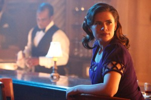 "MARVEL'S AGENT CARTER - ""A View in the Dark"" - Peggy discovers her murder investigation has huge ramifications that can destroy her career, as well as everyone near and dear to her, on ""Marvel's Agent Carter,"" TUESDAY, JANUARY 19 (10:00-11:00 p.m. EST) on the ABC Television Network. (ABC/Kelsey McNeal) HAYLEY ATWELL"