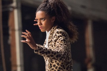 "DC's Legends of Tomorrow --""Compromised""-- Image LGN205a_0352.jpg -- Pictured: Maisie Richardson- Sellers as Amaya Jiwe/Vixen -- Photo: Dean Buscher/The CW -- © 2016 The CW Network, LLC. All Rights Reserved."