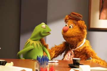 KERMIT THE FROG, FOZZIE BEAR