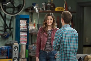 """BABY DADDY - """"It Takes a Village Idiot"""" - Bonnie's cooking lesson with her favorite chef does not go as hoped on an all-new episode of """"Baby Daddy,"""" airing Wednesday, June 10th, 2015 at 8:30PM ET/PT on ABC Family. (ABC Family/Bruce Birmelin) MONICA RUIZ, JEAN-LUC BILODEAU"""