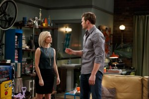 "BABY DADDY - ""Ring Around the Party"" - Ben is determined to beat Ross at his own game an all-new episode of ""Baby Daddy,"" airing Wednesday, July 15th, 2015 at 8:30PM ET/PT on ABC Family. In ""Ring Around the Party,"" Riley realizes that she hasn't met any of Ross's (Eddie Cibrian) friends and decides to throw a cocktail party so she can get to know them. Ross confronts Ben about his not-so-secret feelings for Riley and tells him to back off; in fact, don't even come to the party. Not one to take orders, Ben crashes the party, but the night quickly takes a wrong turn when the boys get into a fist fight and  a very drunk Tucker spills a few more secrets.  Danny realizes he knows nothing about his new girlfriend Ashley (Lindsey Gort) and goes to great lengths just to find out her last name. Will Danny be able to save his relationship once she figures out how little he knows about her? Meanwhile, Bonnie has some seriously explaining to do when a valuable item goes missing. - (ABC Family/Bruce Birmelin)