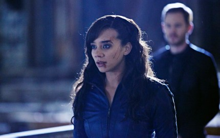 "KILLJOYS -- ""Escape Velocity"" Episode 110 -- Pictured: Hannah John-Kamen as Dutch -- (Photo by: Ken Woroner/Temple Street Releasing Limited/Syfy)"