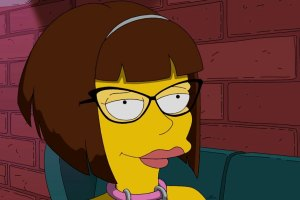 "THE SIMPSONS: Lena Dunham guest voices in the ""Every Man's Dream"" season 27 premiere episode of THE SIMPSONS airing Sunday, Sept. 27 (8:00-8:30 PM ET/PT) on FOX.  THE SIMPSONS ™ and © 2015 TCFFC ALL RIGHTS RESERVED."