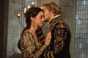 "Reign -- ""Extreme Measures"" -- Image Number: RE303a_0236.jpg -- Pictured (L-R): Adelaide Kane as Mary, Queen of Scotland and France and Toby Regbo as King Francis II -- Photo: Ben Mark Holzberg/The CW -- © 2015 The CW Network, LLC. All rights reserved."