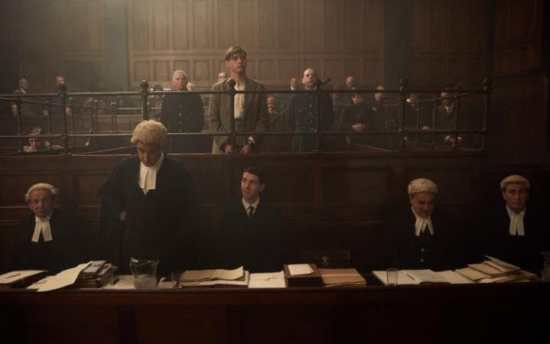 Courtroom Scene - The Witness for the Prosecution