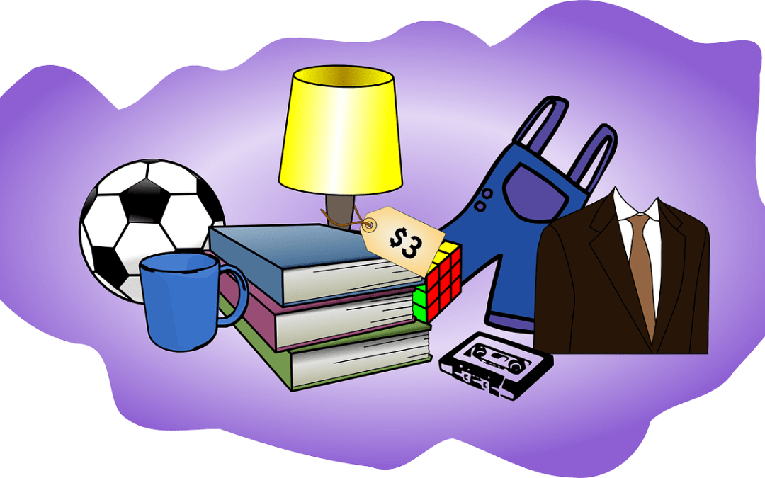 October 1st Garage Sale — Save the Date and Your Stuff