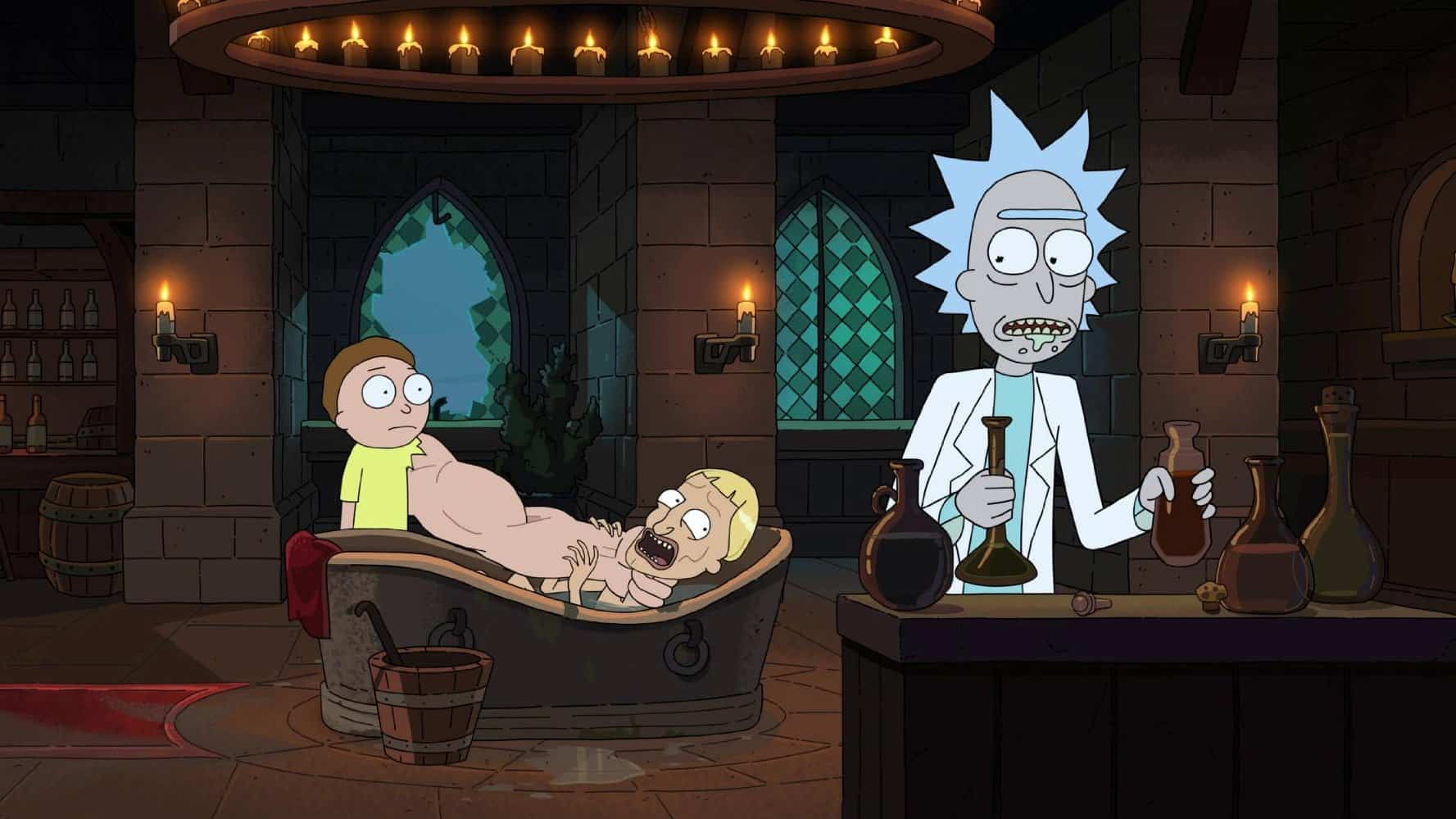 Gravity Falls Computer Wallpaper Rick And Morty Review Finally Back With Quot Rickmancing The