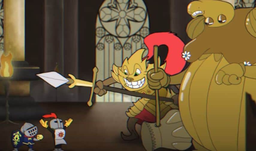 Dark Souls Animated Wallpaper Check Out Dark Souls Animated In The Style Of Cuphead