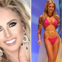 Miss California: Chanelle Riggan perd son haut de bikini en pleine parade