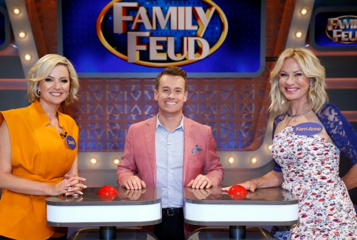 All star family feud hosts v newsreaders tv tonight Better homes and gardens tonight s episode