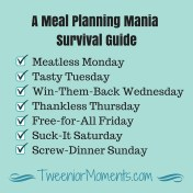 Meal Planning Mania Survival Guide