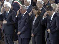 Terremoto, Ascoli Piceno: commozione ai funerali delle vittime,  presenti le massime autorità. Ma la gente attende fatti concreti