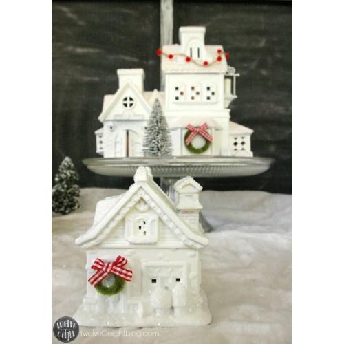 Medium Crop Of Christmas Village Houses