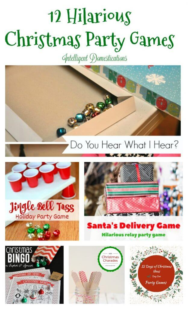 12 Hilariously Fun Christmas Games for a Party! - Twelve On Main