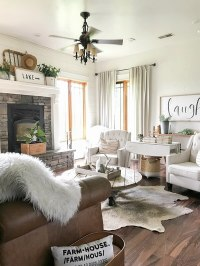 Farmhouse Living Room Summer Decor - Twelve On Main