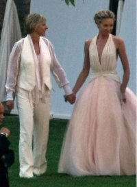 portia de rossi wedding hair photos portia de rossi ...