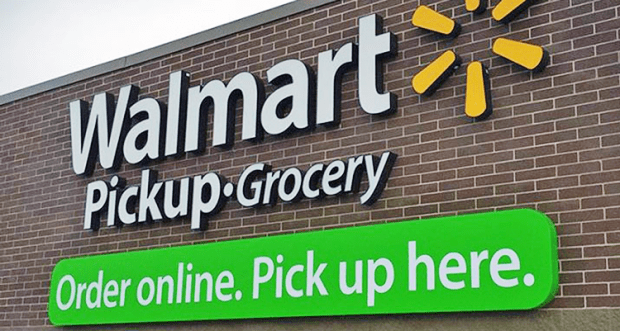 Walmart Adds Store Pickup For Online Grocery Orders In