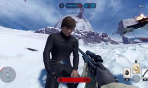 Star Wars battlefront luke screenshot