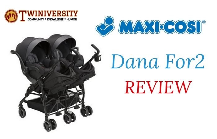 Maxi-Cosi Dana For2 Double Stroller Review - Twiniversity