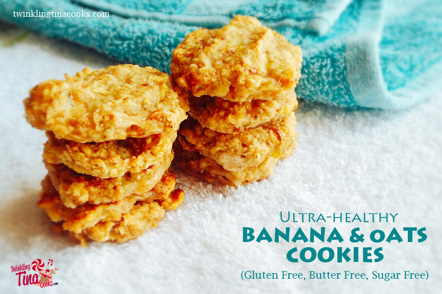 ULTRA-HEALTHY OATS AND BANANA COOKIES