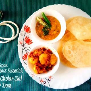 bengali-luchi-cholar-dal-alur-dom-vegan-recipe-how-to-make-bengali-puri-lentil-dum-aloo