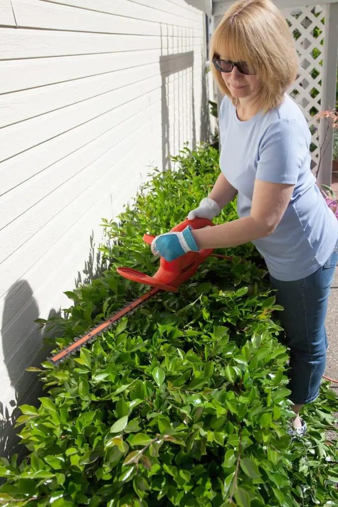 The Many Health Benefits of Yard Work