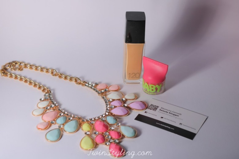 fit me e baby lips & blush