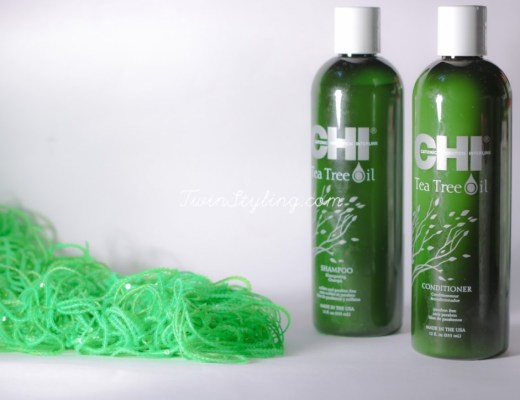 Chi tea tree oil shampoo e conditioner - stylosophy