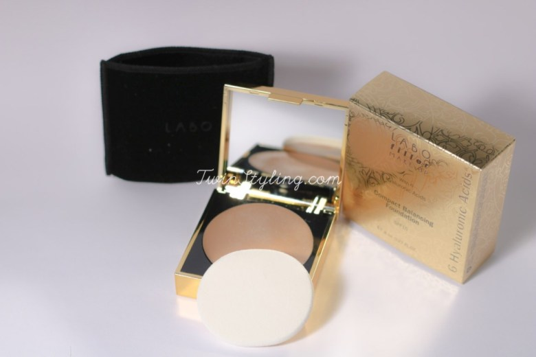 compact balancing foundation Labo Cosprophar Suisse