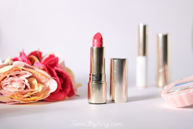 joli rouge brillant e base fixante cherry hot fuchsia clarins