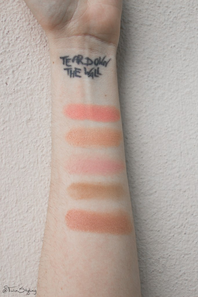 Blush Bar - Benefit Cosmetics. swatches