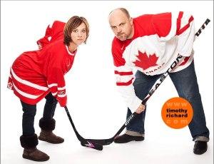 hockey mom hockey dad heather rankin kevin kincaid
